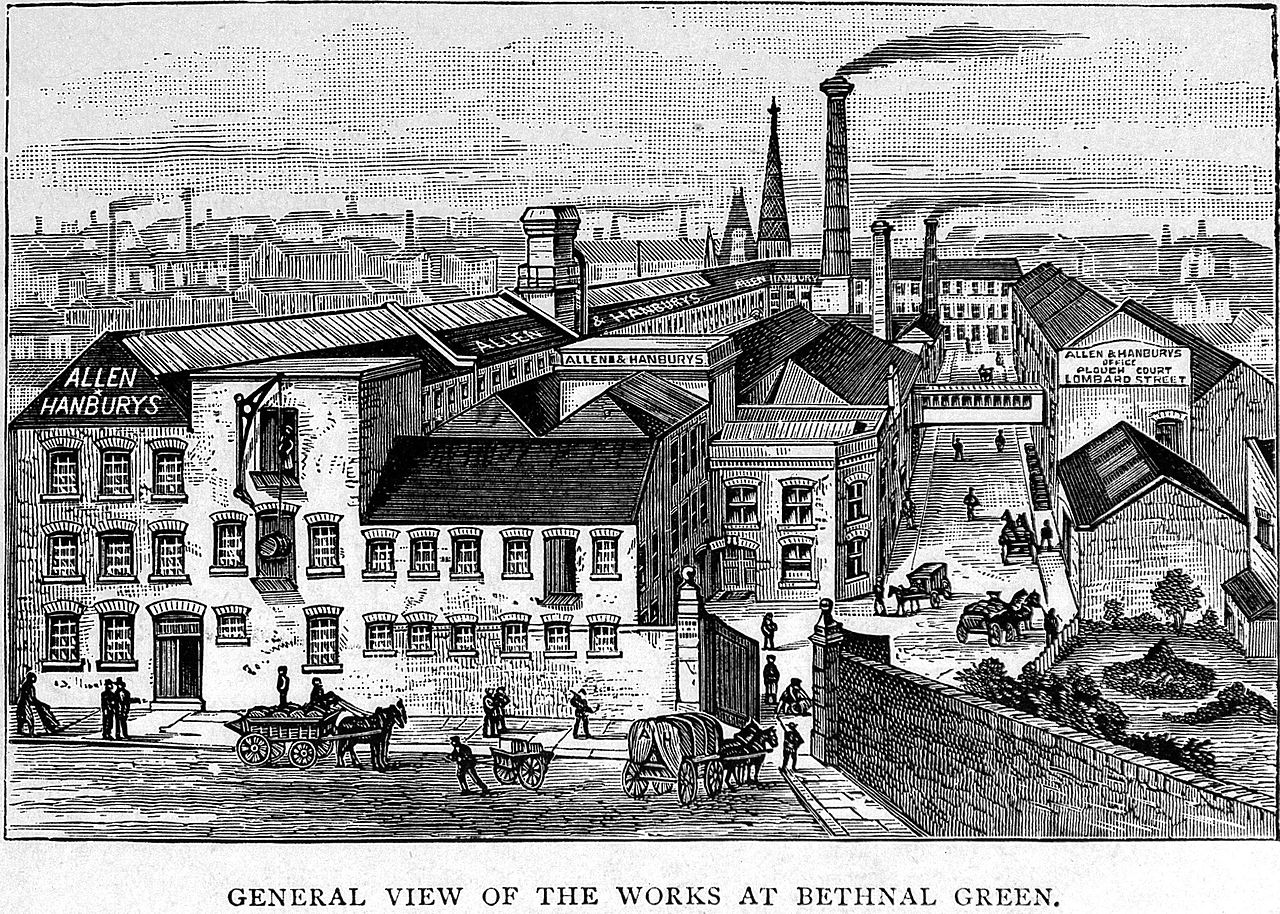 the factory as it once was