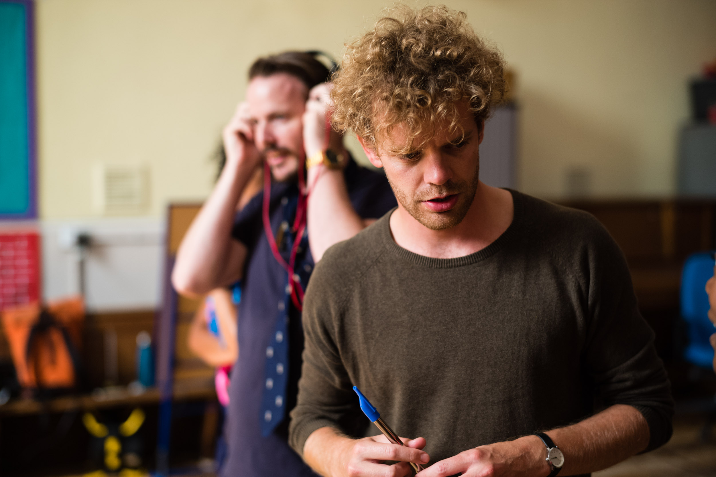 From Left: Tom Stoddart (Papageno), Peter Kirk (Tamino)