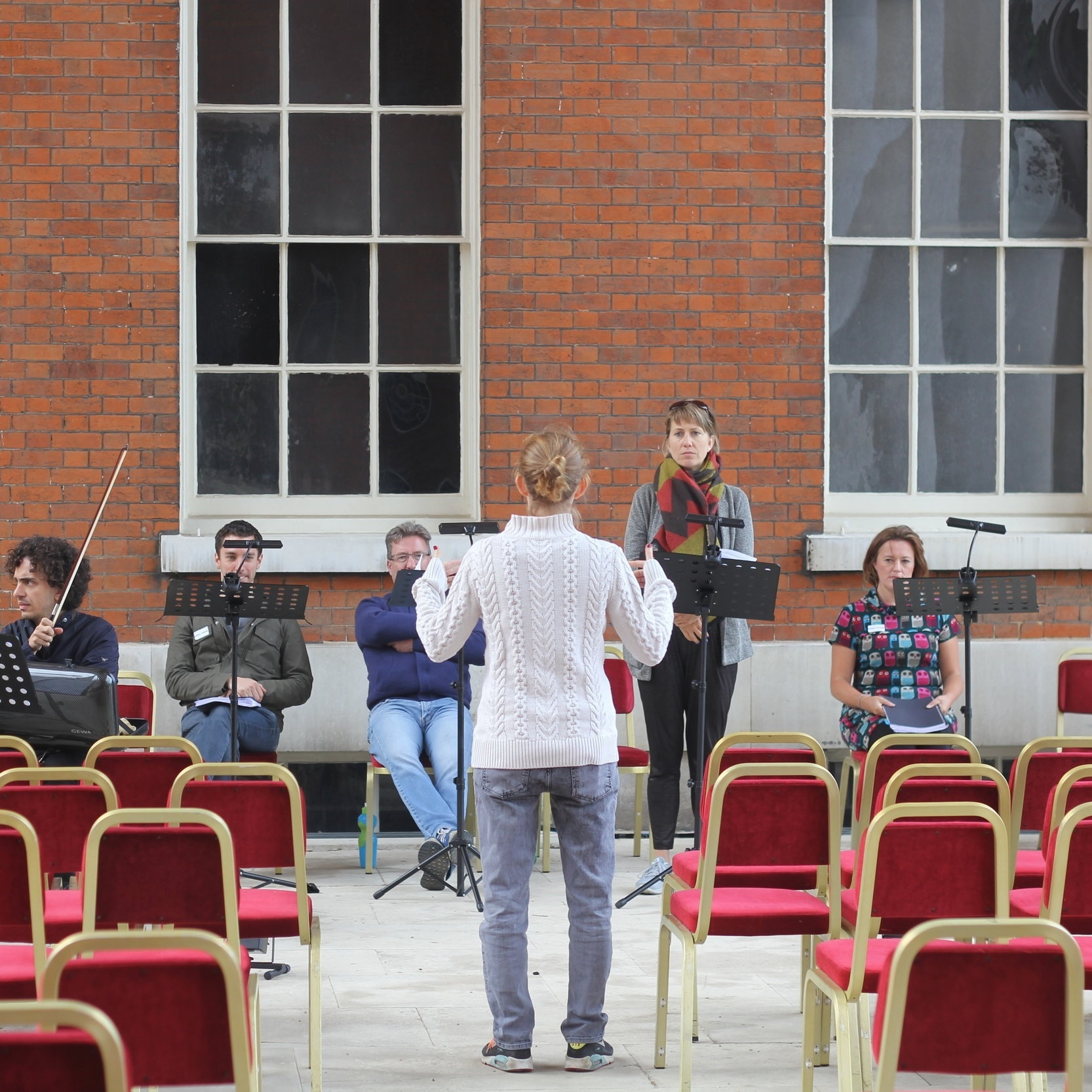 On the Portico - Osterley Park and House