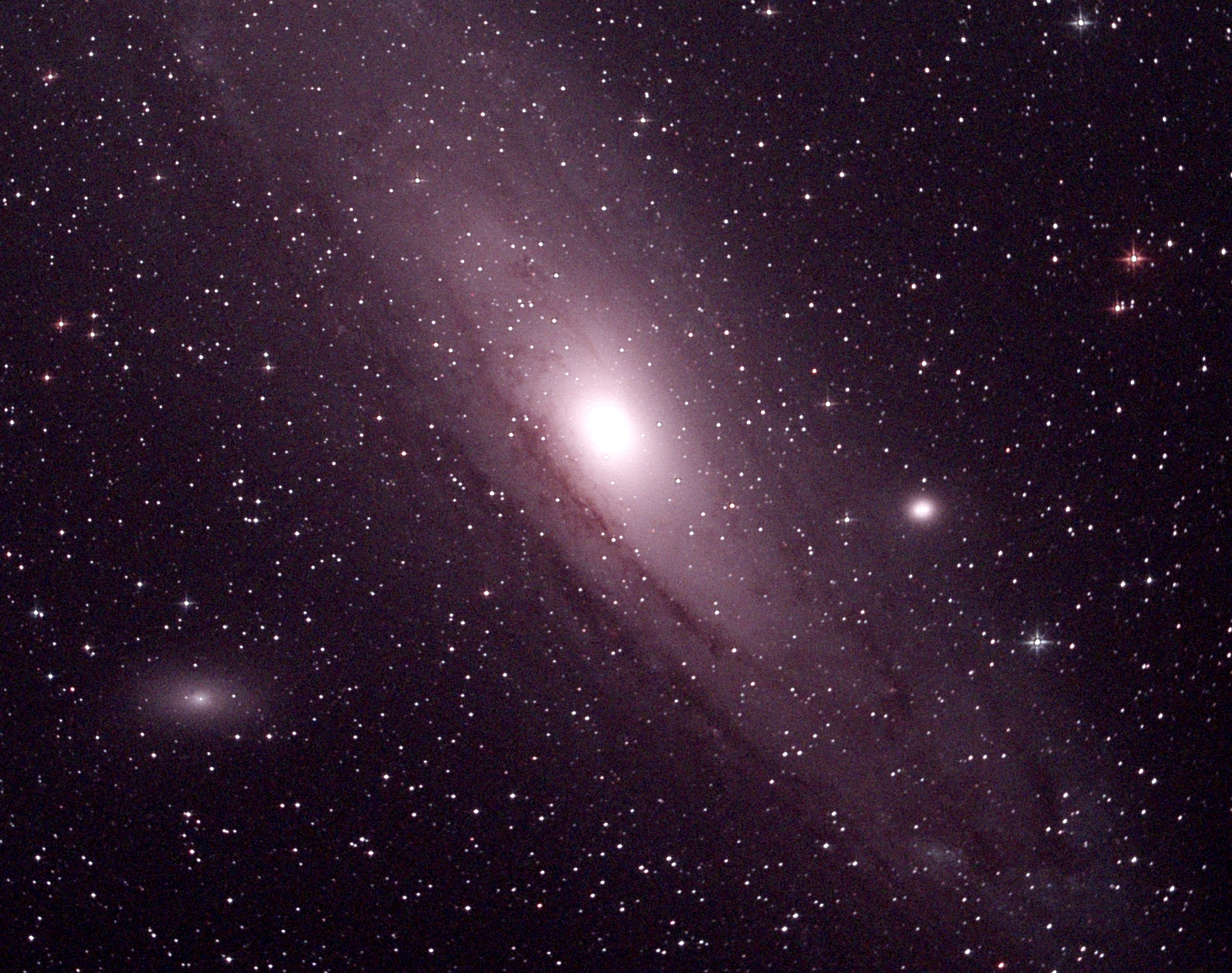 Andromeda Galaxy (M 31). (Photo credit: Richard Johnson).