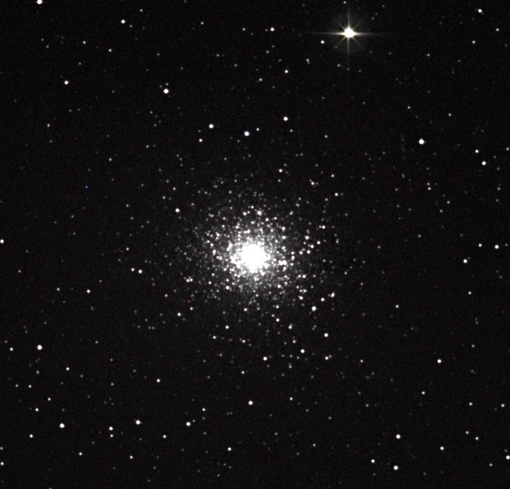 Globular Cluster M 5. Image credit: Richard Johnson.