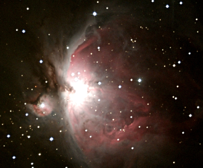 M 42, The Orion Nebula. Photo credit: Richard Johnson.