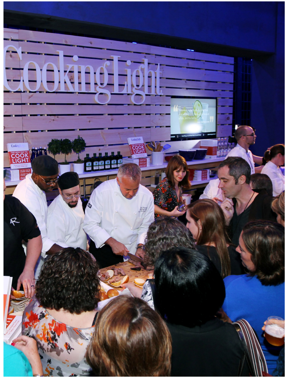 DEVELOPED CELEBRITY CHEF EVENTS