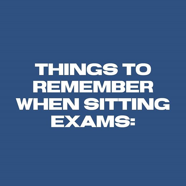 ⬆️🙌 We are praying for all those who have exams at the moment!