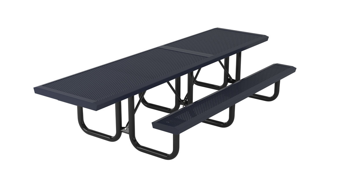 playground or campground picnic bench