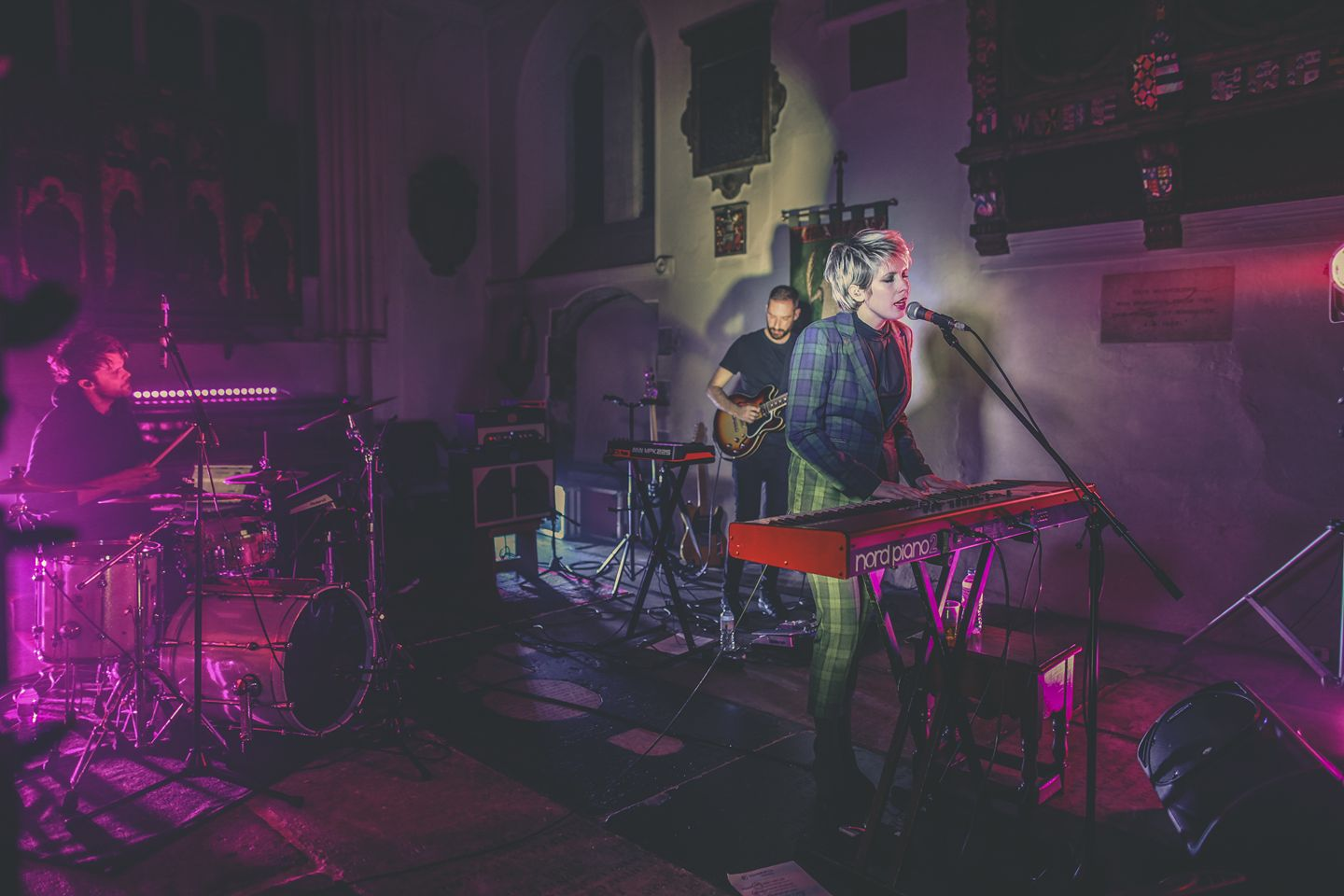 With Jazz Morley, headlining at St Pancras Old Church in October
