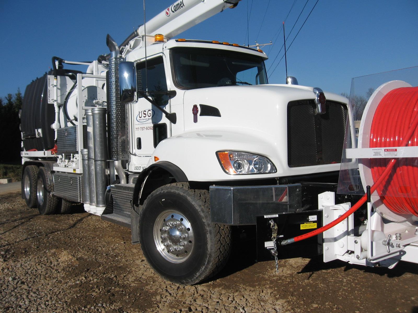 Flush Truck