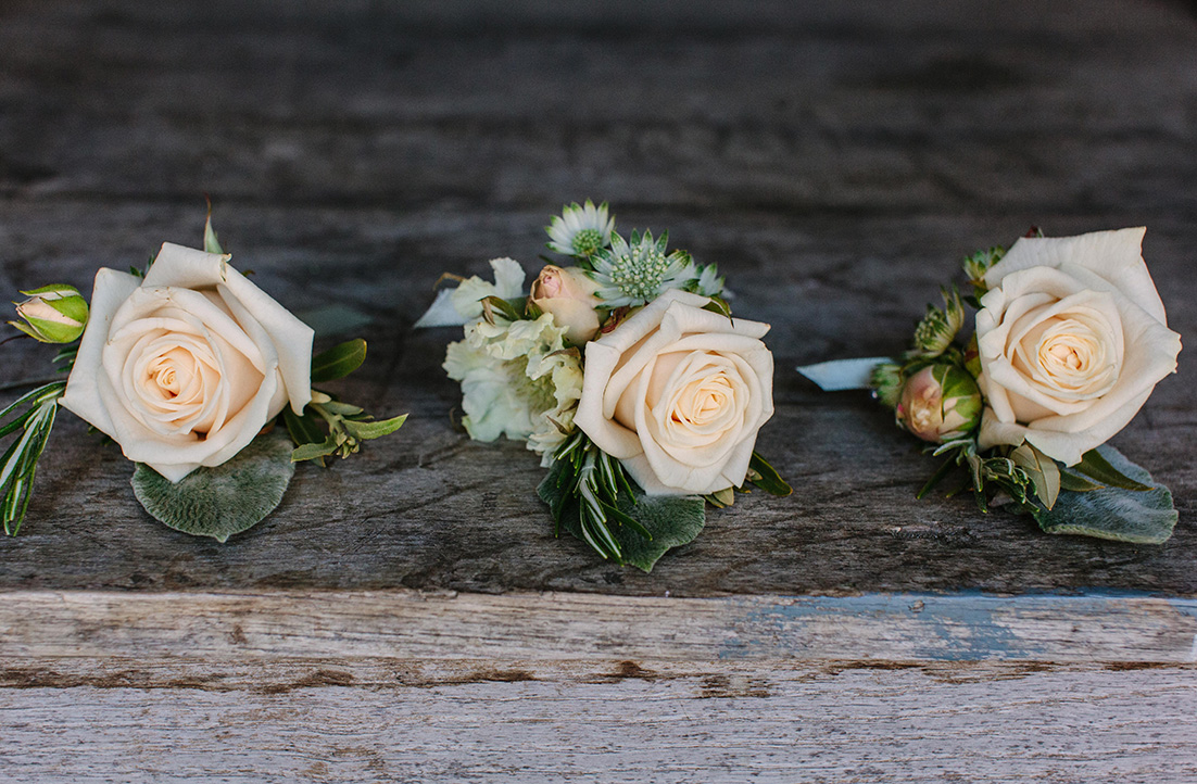 Vandela Rose Buttonholes.