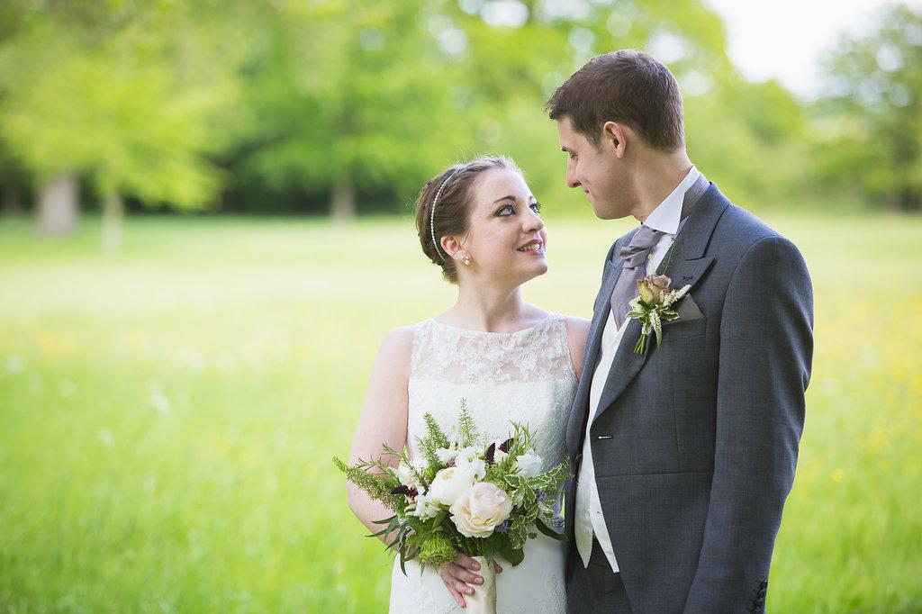 Spring wedding at Dorton House, Bucks