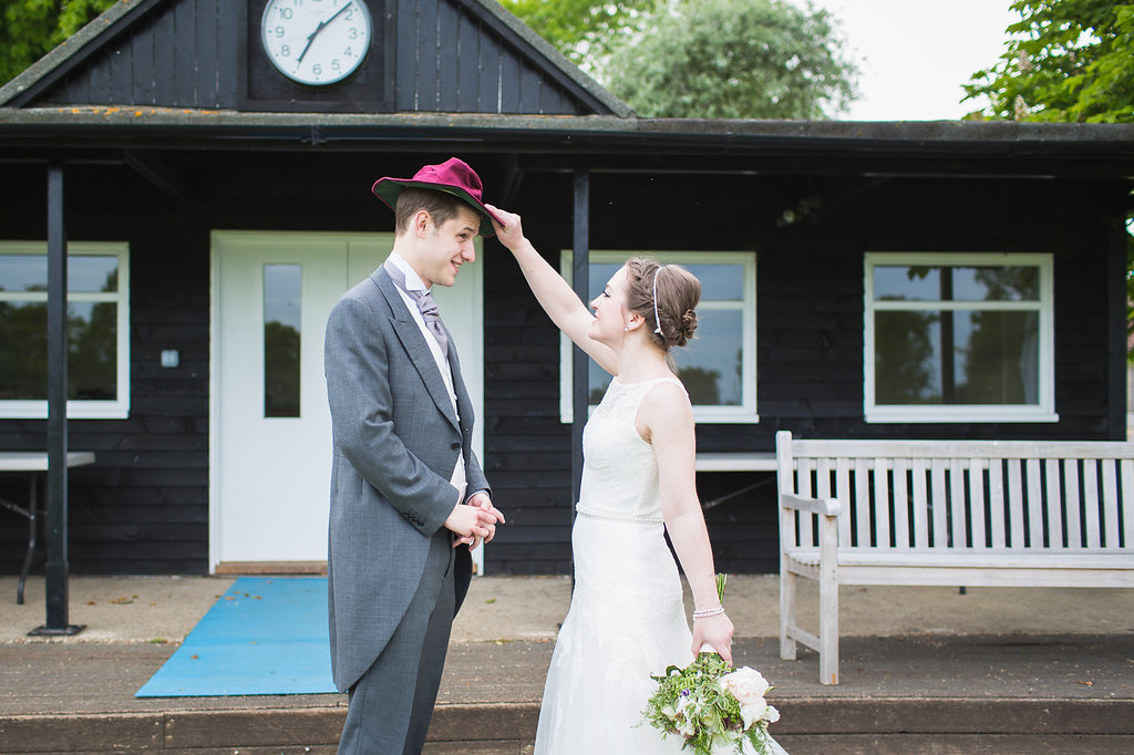 Summer wedding at Dorton House, Buckinghamshire