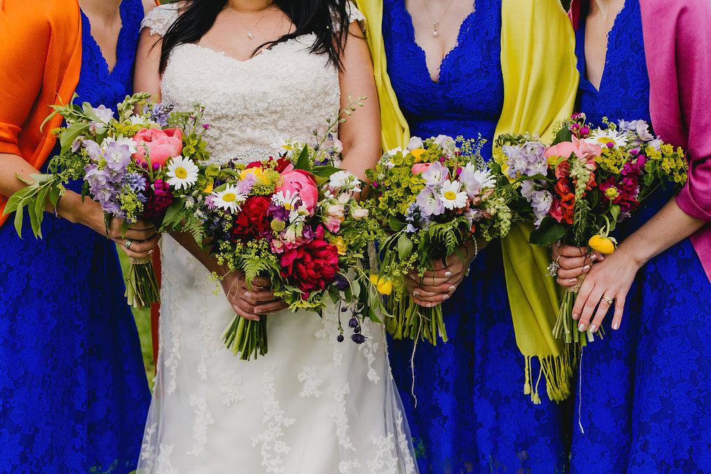Bright spring wedding