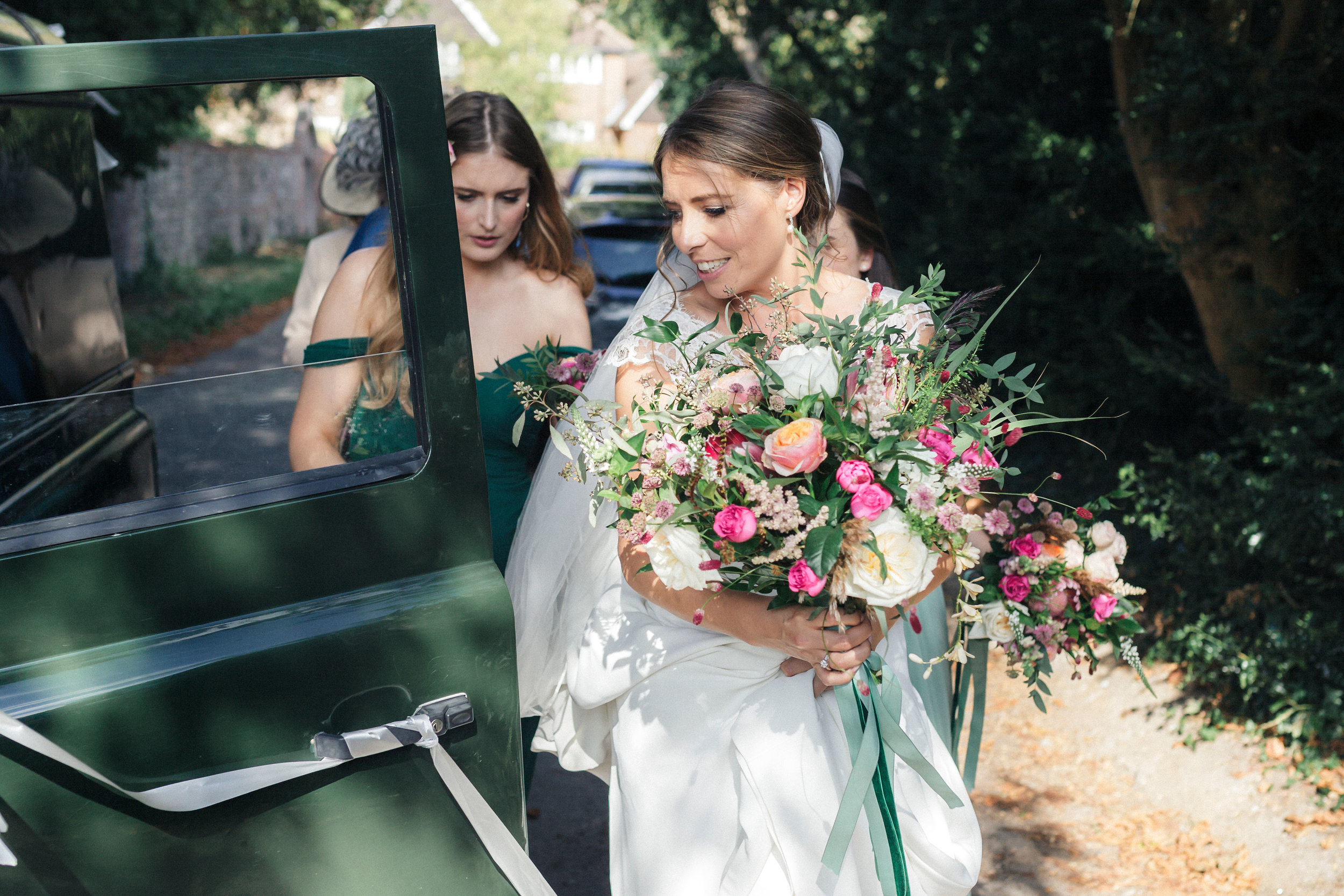 summer wedding, Buckinghamshire