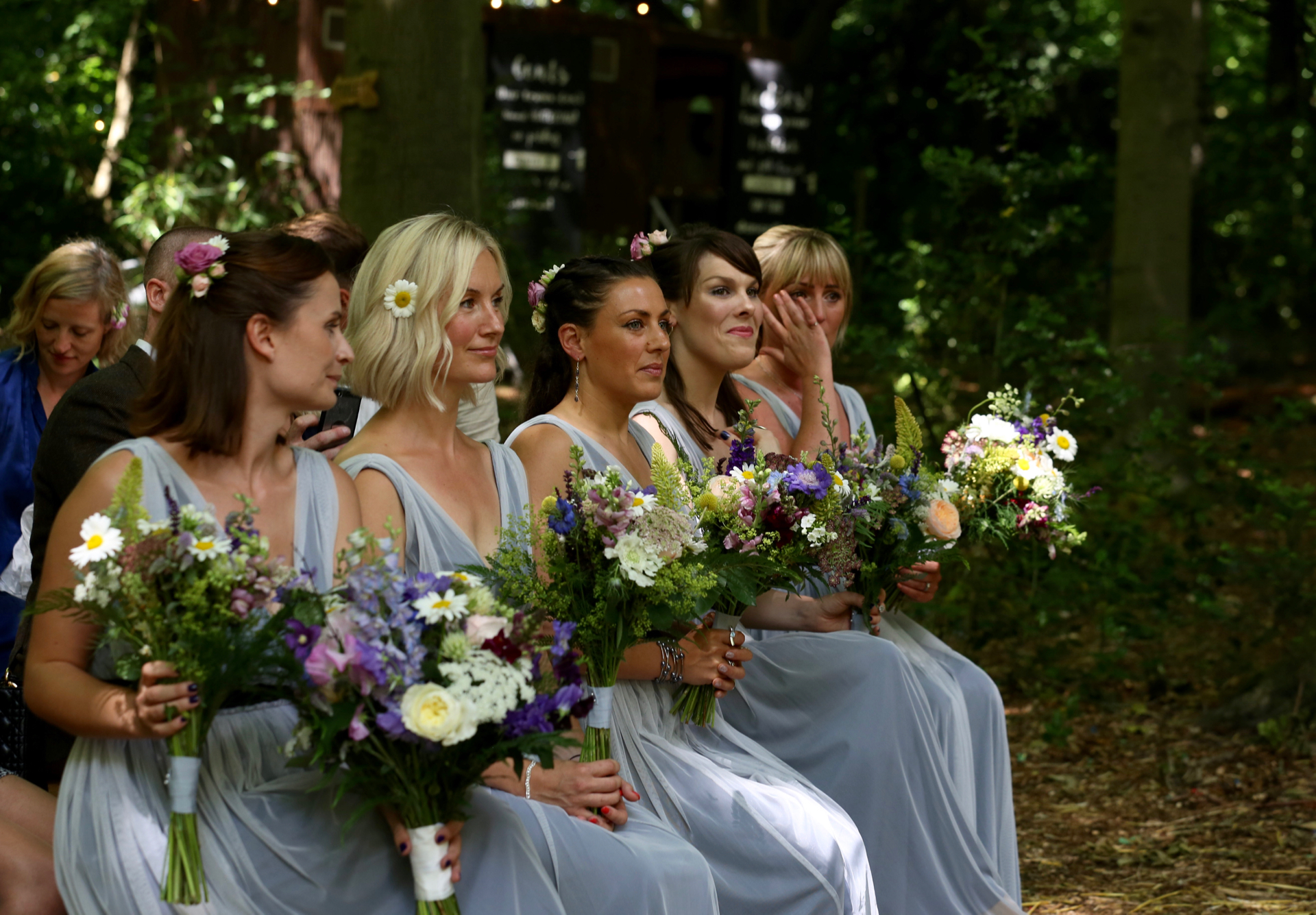 woodland wedding, Lila's Wood, Herdfordshire