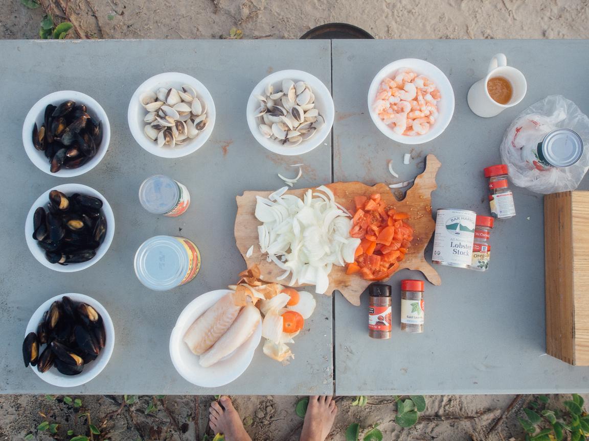 texas camp camping cookery campvibes cioppino fish america yall pawlowski 1