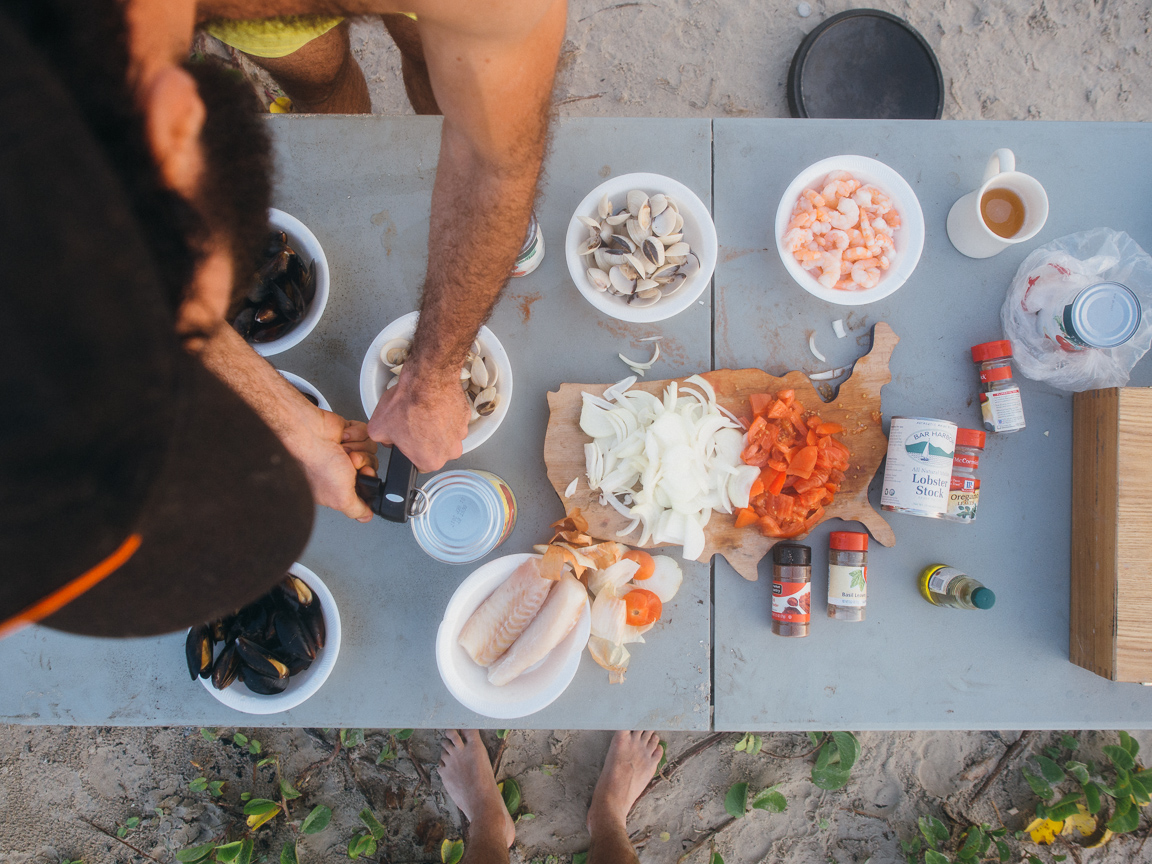 texas camp camping cookery campvibes cioppino fish america yall pawlowski 5
