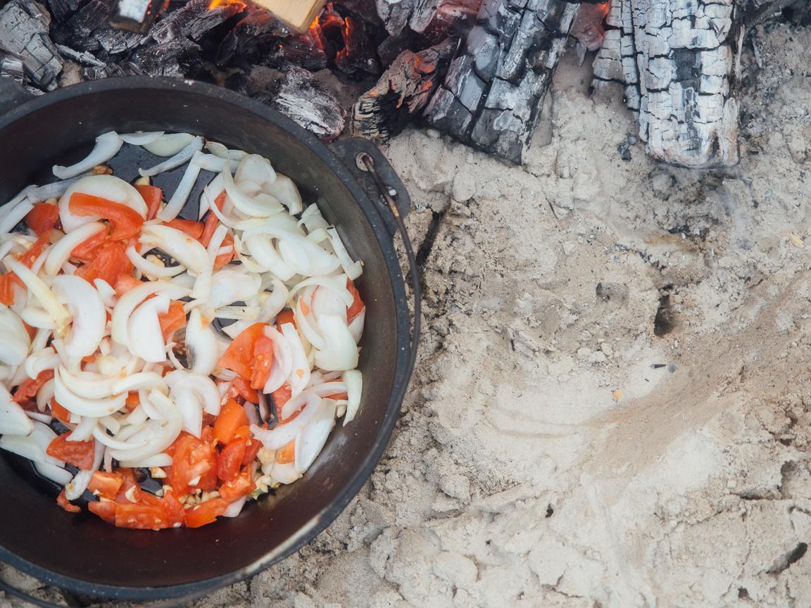 texas camp camping cookery campvibes cioppino fish america yall pawlowski 6