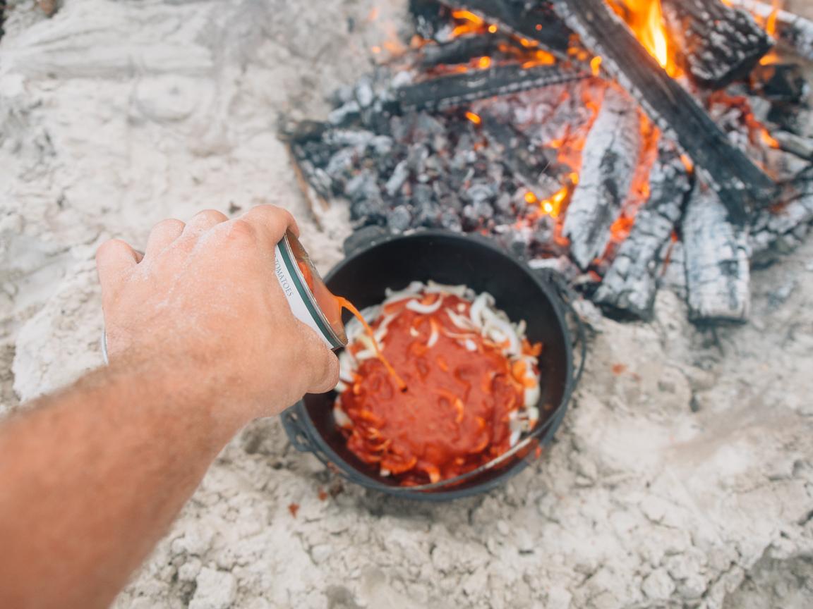 texas camp camping cookery campvibes cioppino fish america yall pawlowski 8