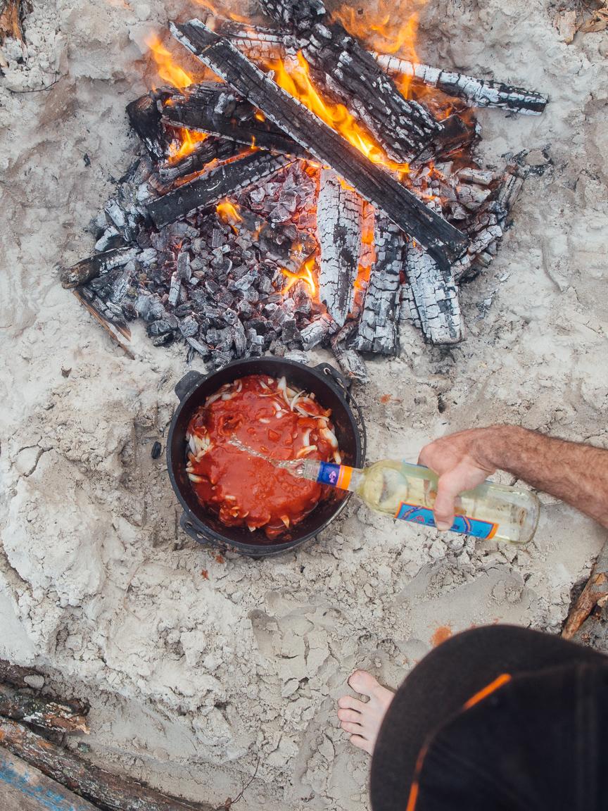 texas camp camping cookery campvibes cioppino fish america yall pawlowski 9