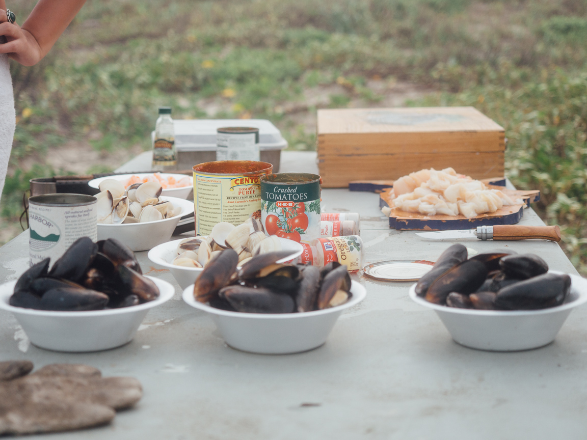 texas camp camping cookery campvibes cioppino fish america yall pawlowski 11