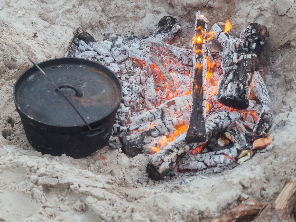 texas camp camping cookery campvibes cioppino fish america yall pawlowski 12