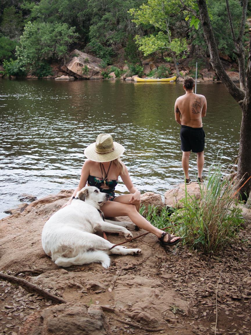 inks lake texas tx cliff jumping swimming camping pawlowski america yall 10