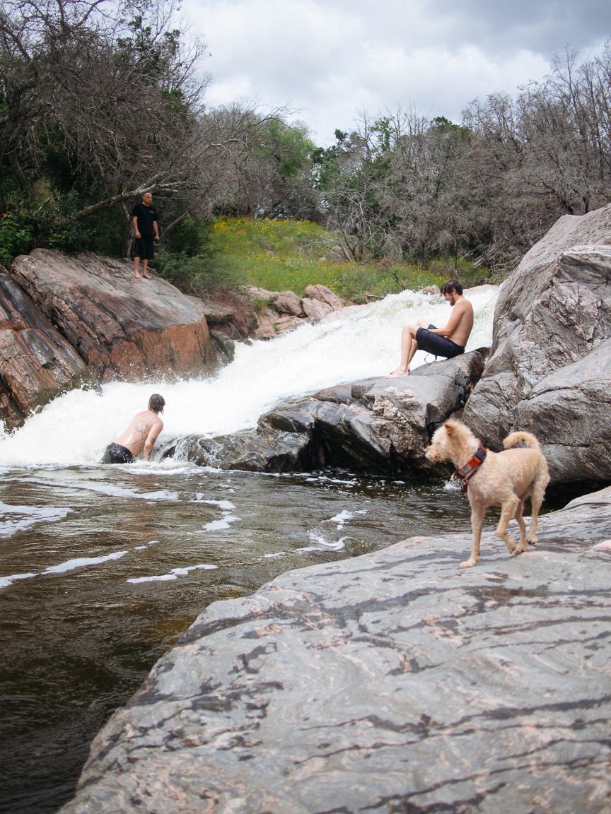 inks lake texas tx cliff jumping swimming camping pawlowski america yall 15