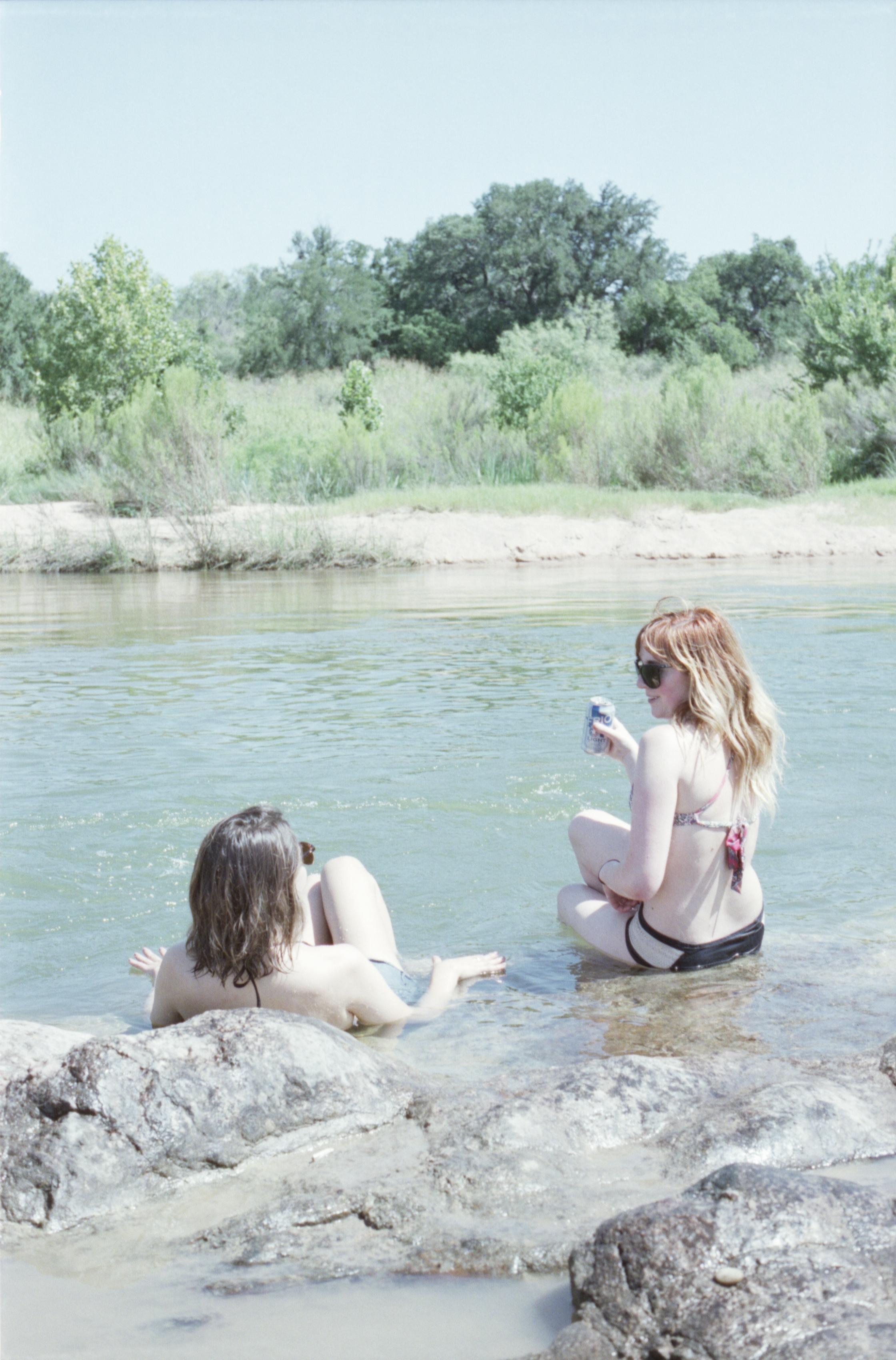 water swim swimming llano texas camp america 35mm