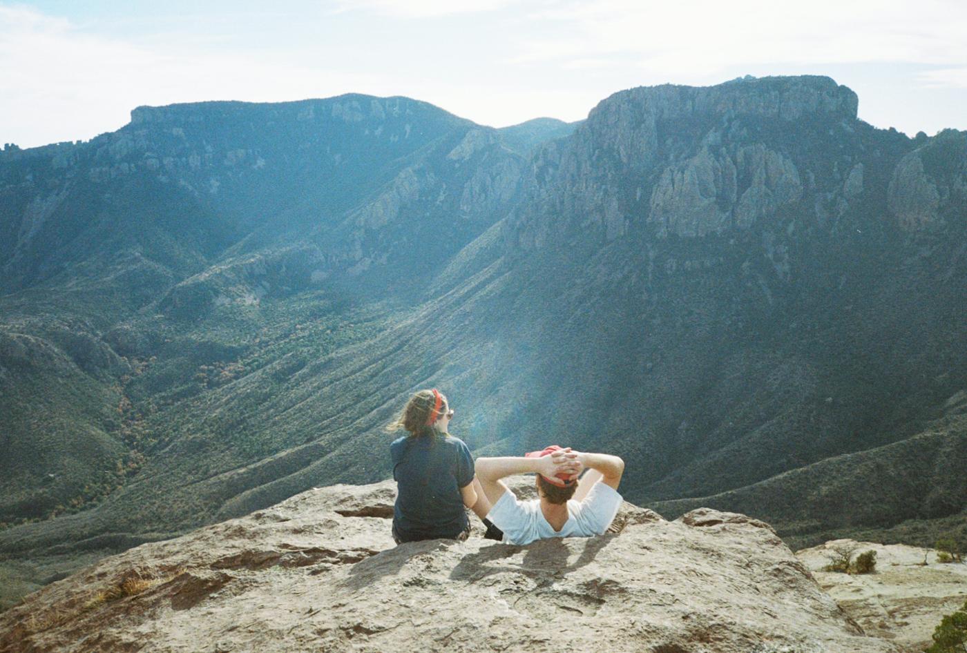 film 35mm lomo olympus hike camp big bend texas america yall pawlowski lost mine