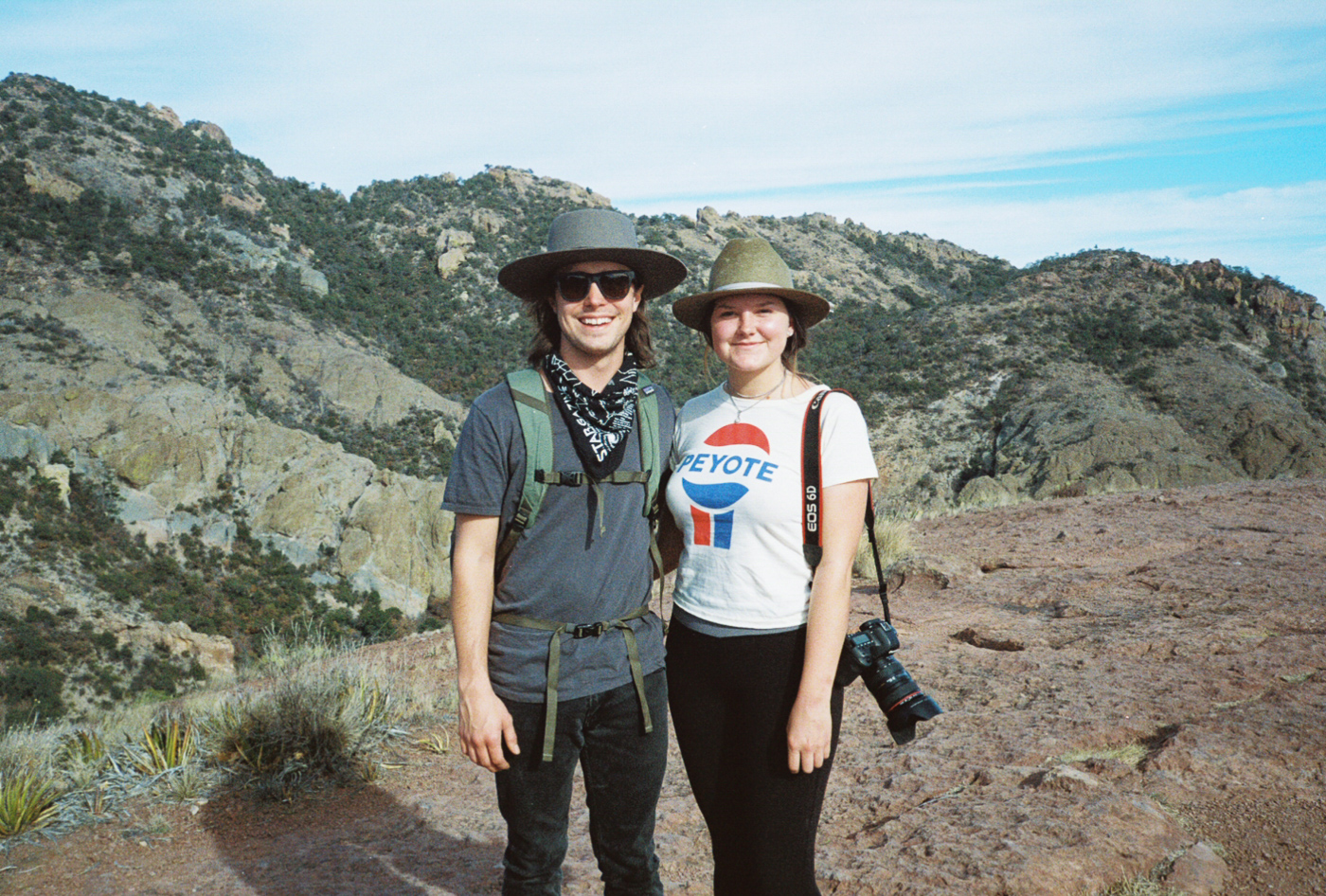 film 35mm lomo olympus hike camp big bend texas america yall pawlowski drugs