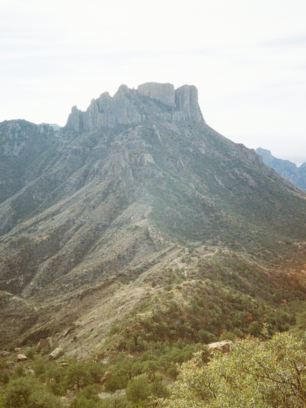 film 35mm lomo olympus hike camp big bend texas america yall pawlowski view