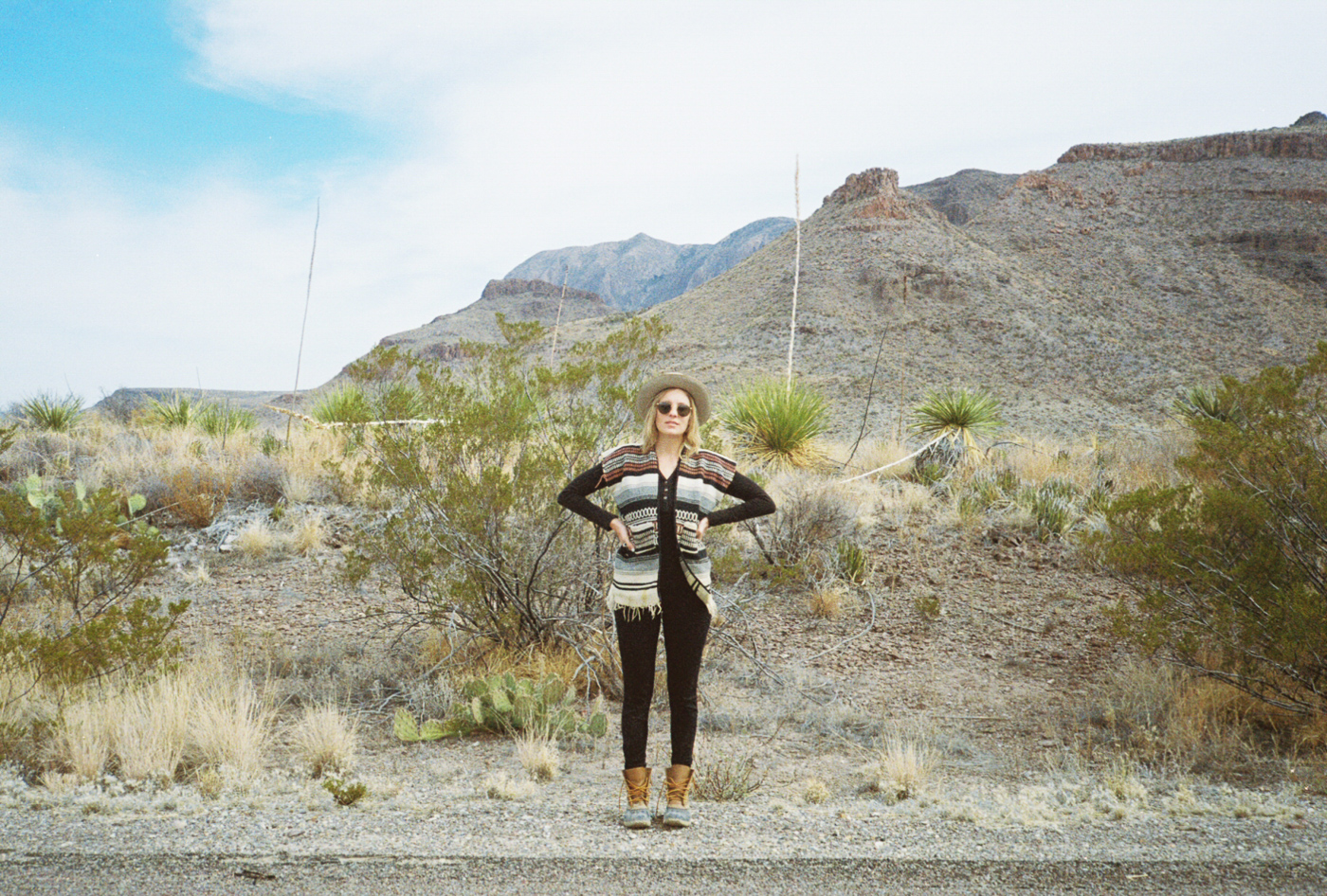 film 35mm lomo olympus hike camp big bend texas america yall pawlowski blanket