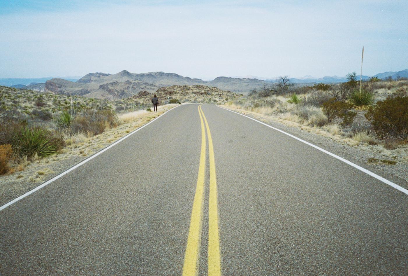 film 35mm lomo olympus hike camp big bend texas america yall pawlowski road