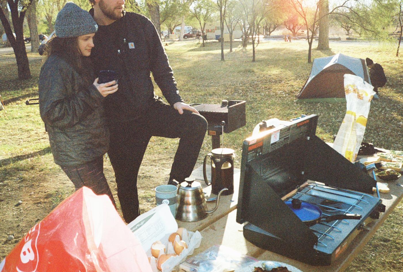 film 35mm lomo olympus hike camp big bend texas america yall pawlowski stove