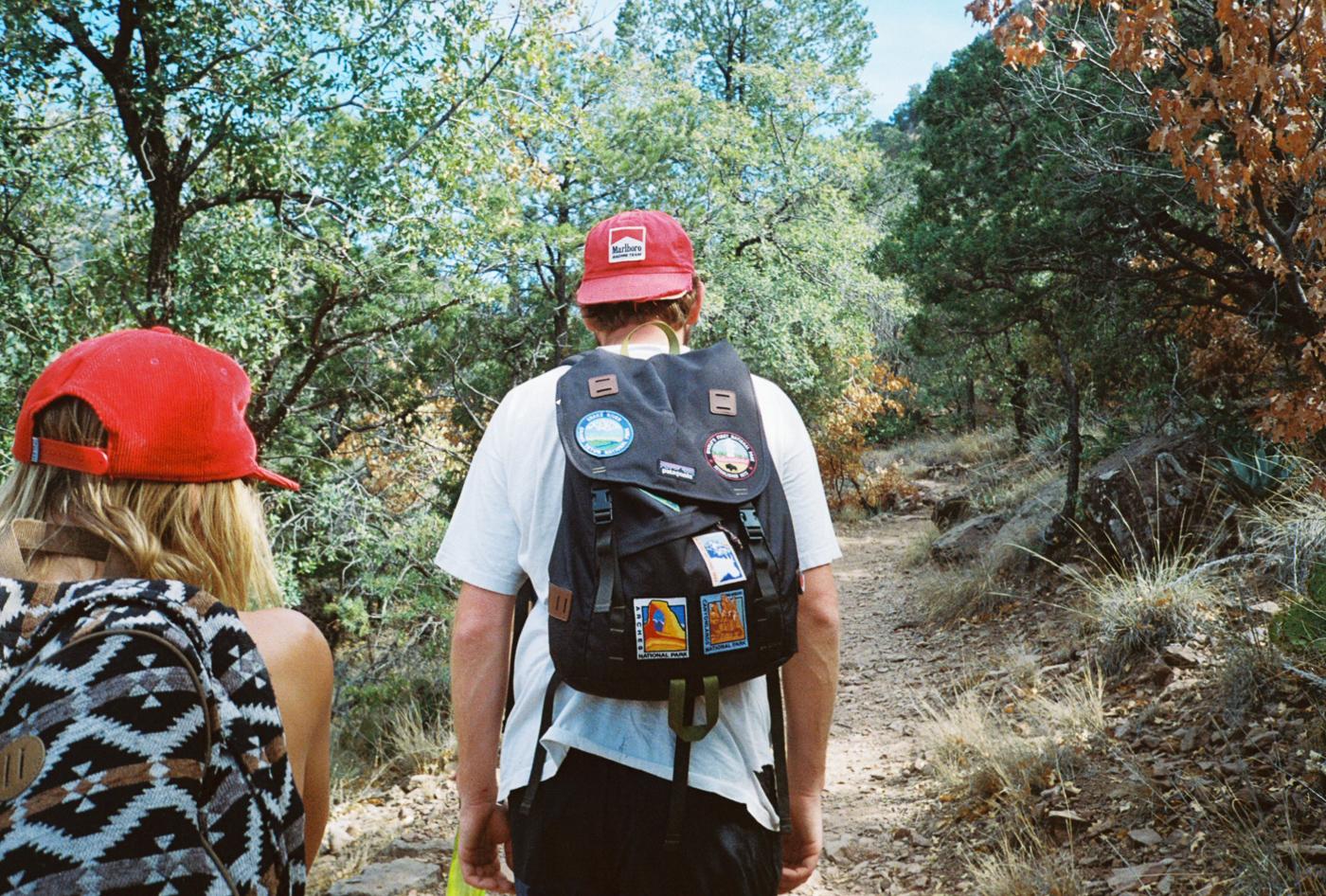 film 35mm lomo olympus hike camp big bend texas america yall pawlowski packs