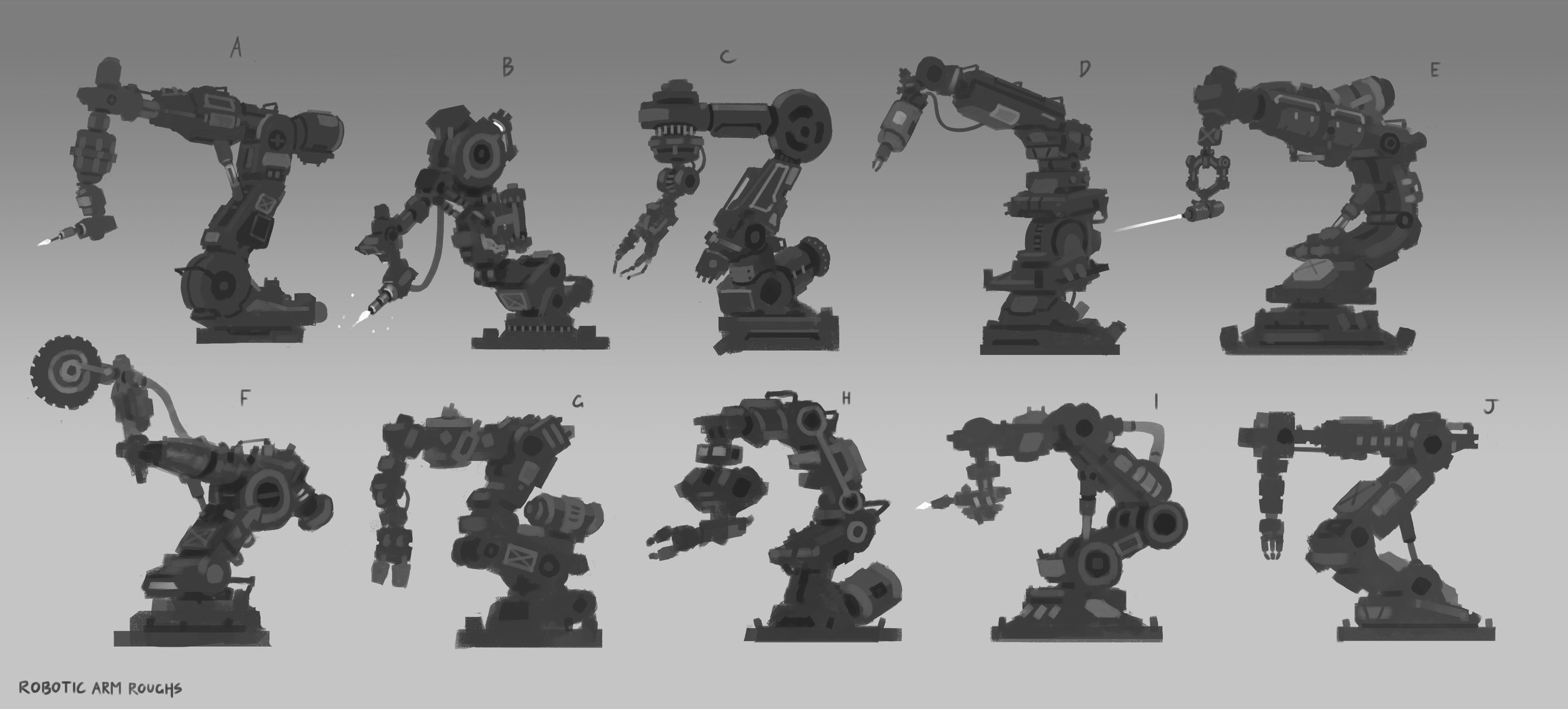 James_Chao_Robotic_Arm_Sketches
