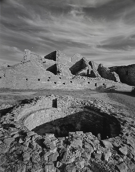 Pueblo Del Arroyo, Chaco Canyon, New Mexico