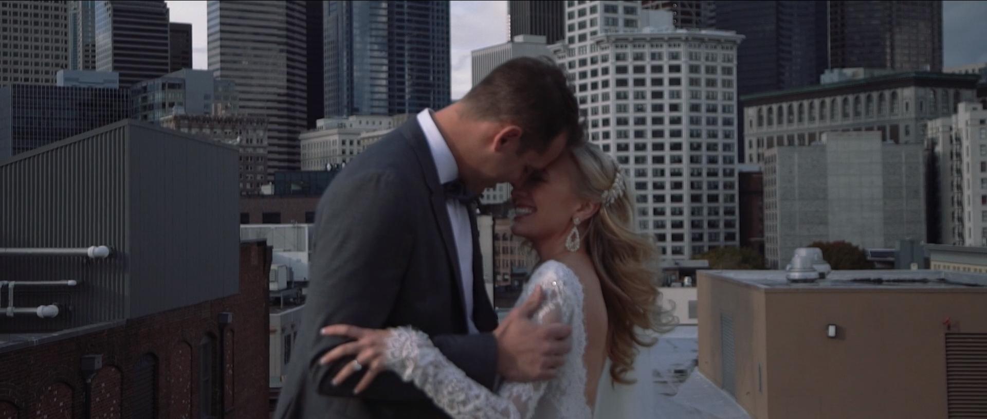 Classy Downtown Seattle Wedding    Shailee + Kramer    VIEW WEDDING