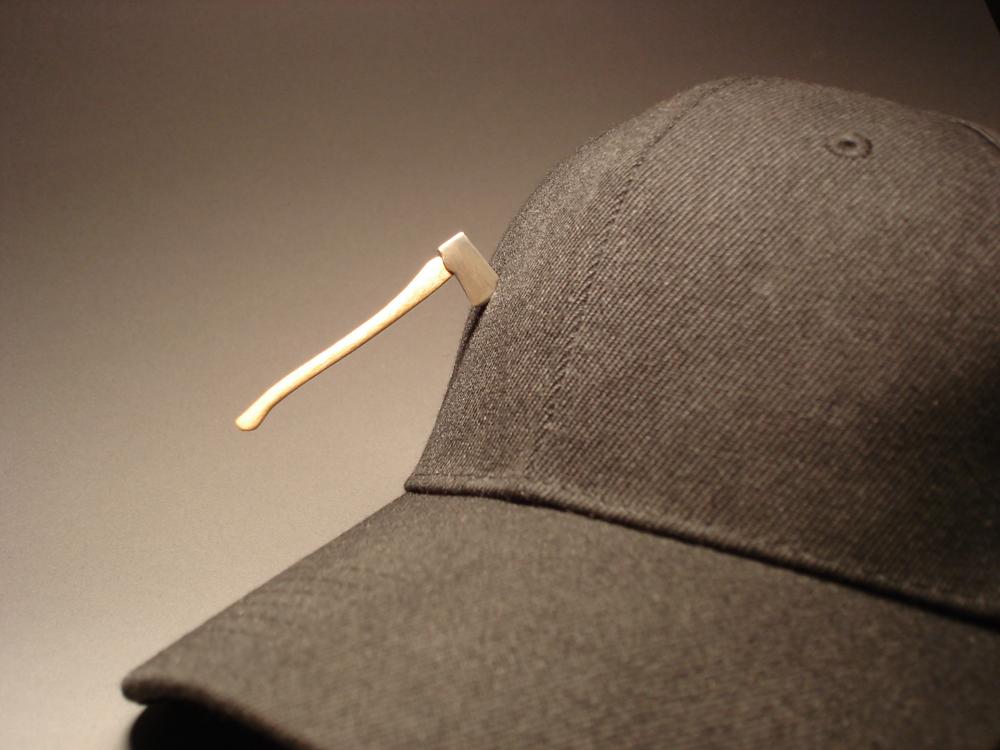 Lumber Axe on Hat