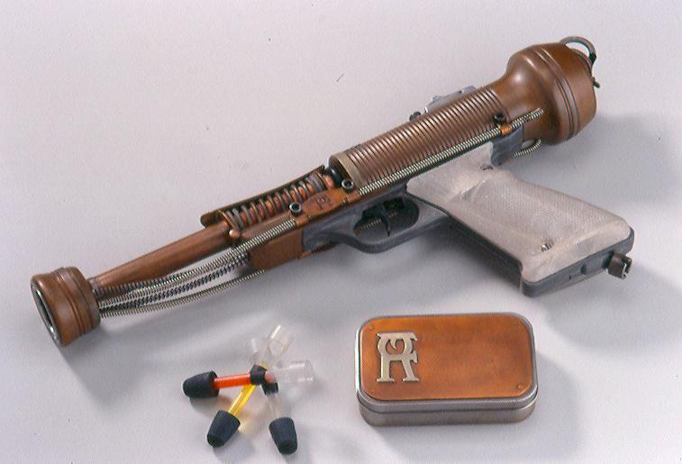 Retro Flash Pop Gun