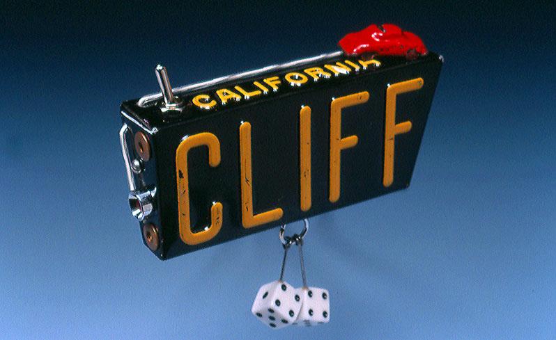"""""""California Cliff"""" Brooch"""