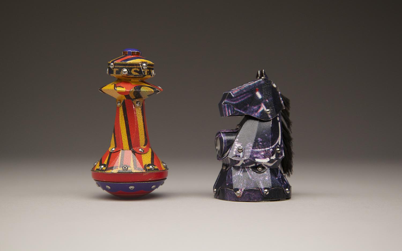 Chess Pieces: Bishop & Knight