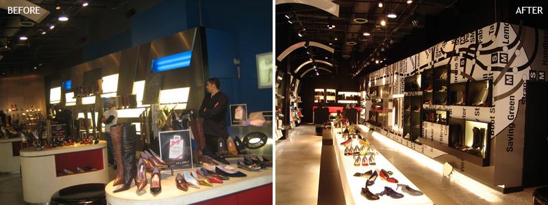 motivo sonrojo carga  Steve Madden Flagship Store — Architecture NYC | Interior Designer NYC
