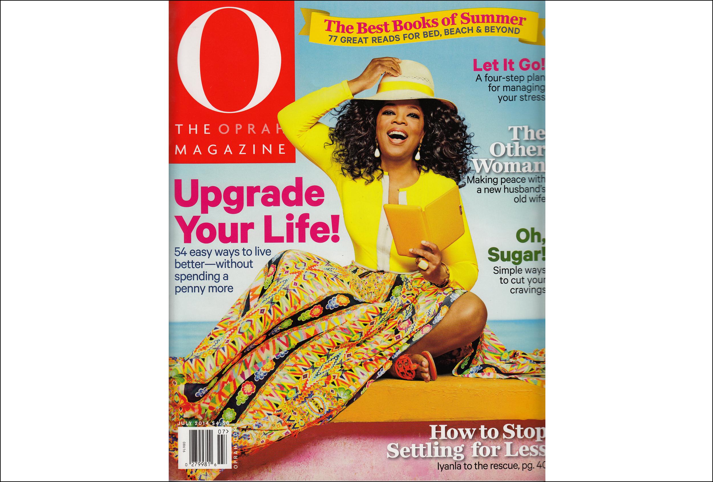 O, The Oprah Magazine ,  July 2014