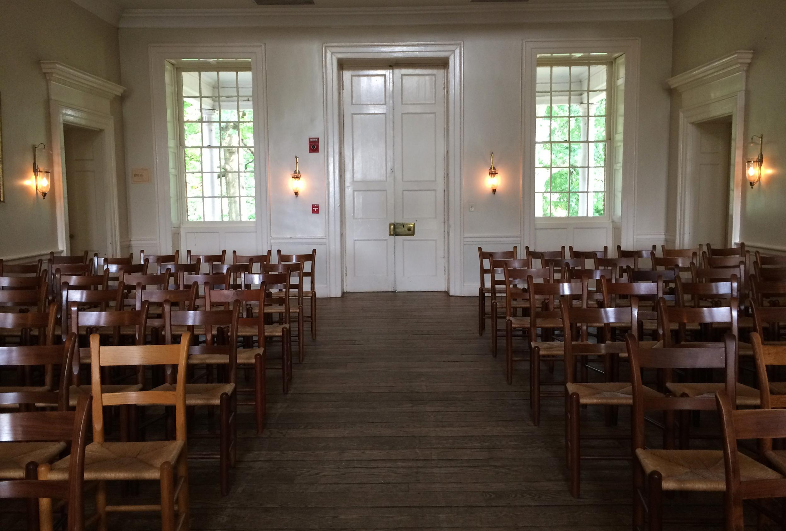 Inside McDowell Hall