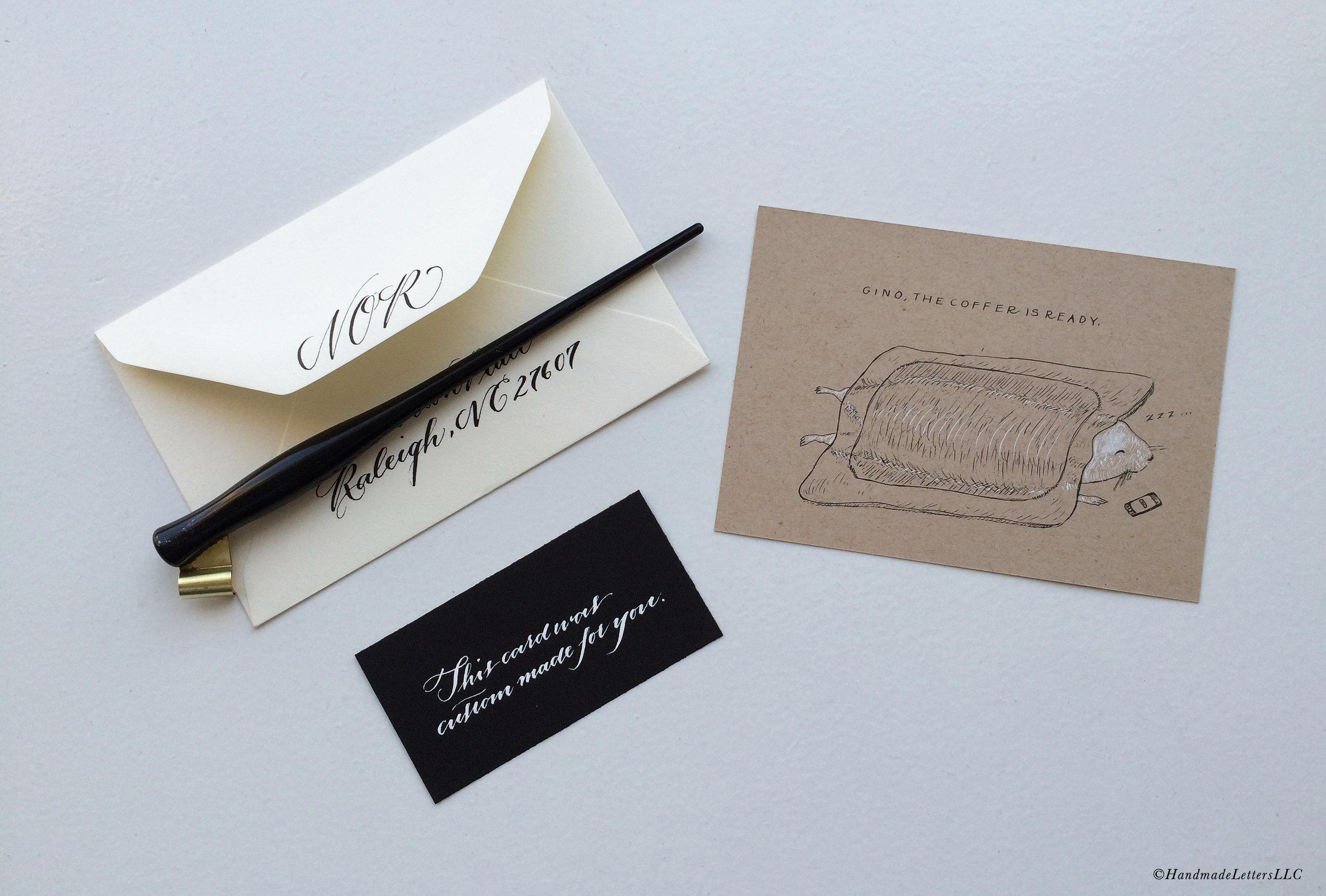 Handmade Letters - Letter for Gino