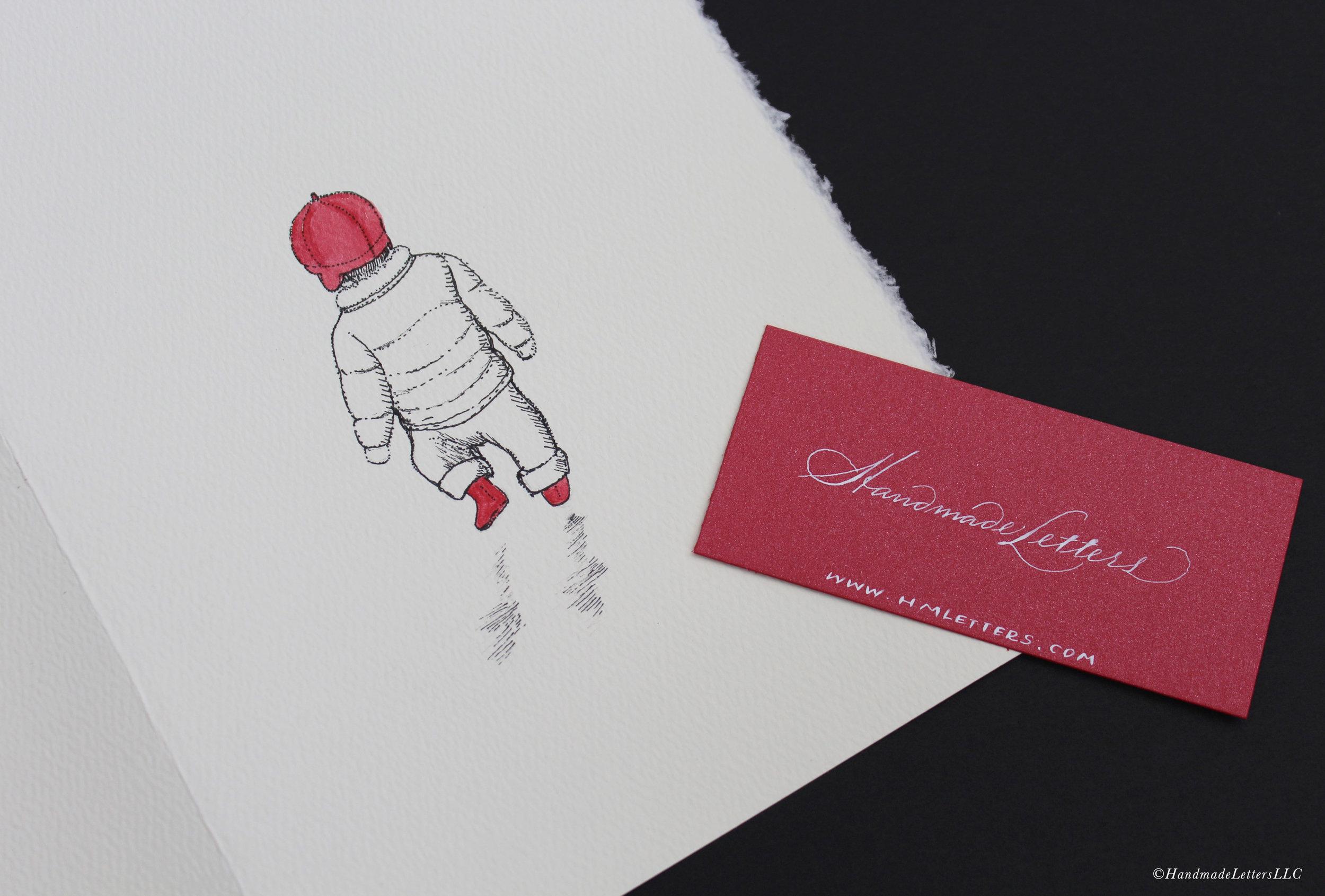 Handmade Letters - Letter for Caroline