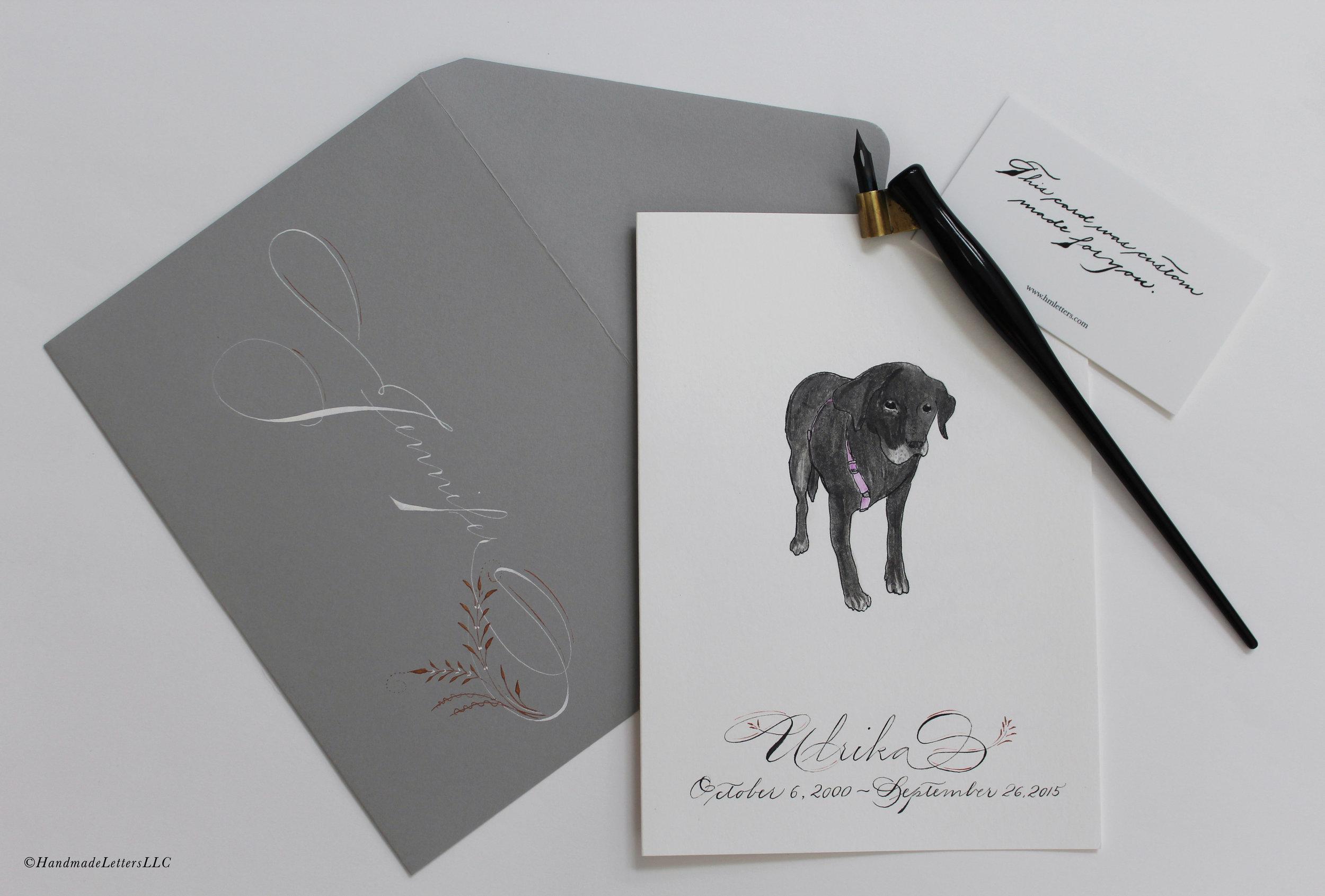 Handmade Letters - Letter for Jennifer