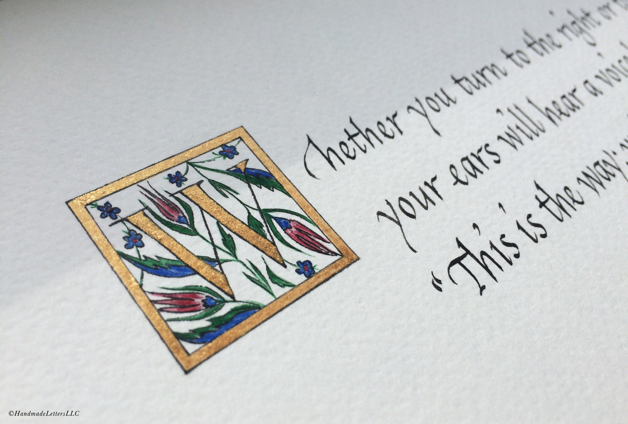 Handmade Letters - Retirement Gift for a Father