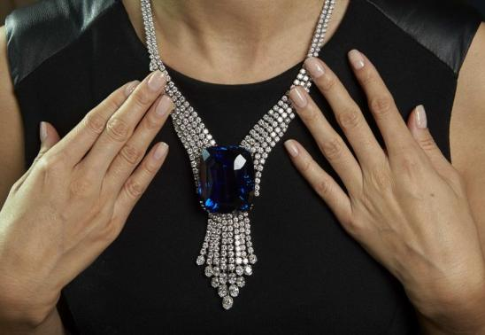 The Blue Belle of Asia Sold by Christie's Geneva