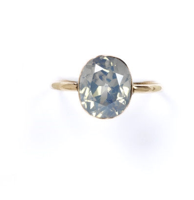Zircon Ring ca.1850 Photo Courtesy of the Victoria and Albert Museum